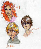 Clary Jace Simon by Dinoralp