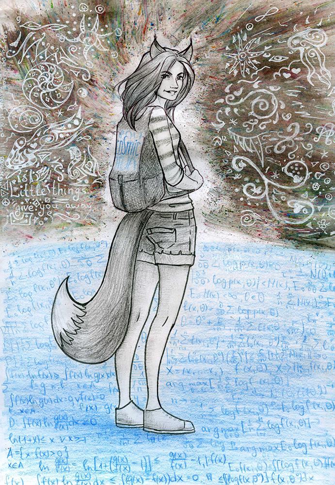 Cosmic Fox by Dinoralp