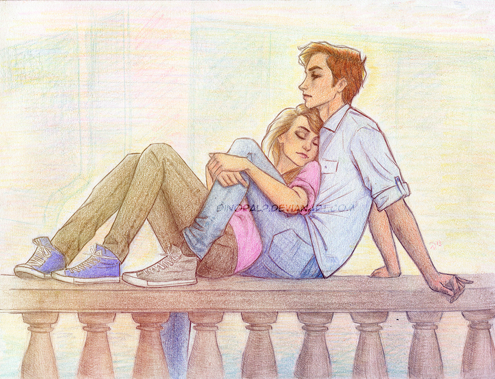 Lena and Alex by Dinoralp