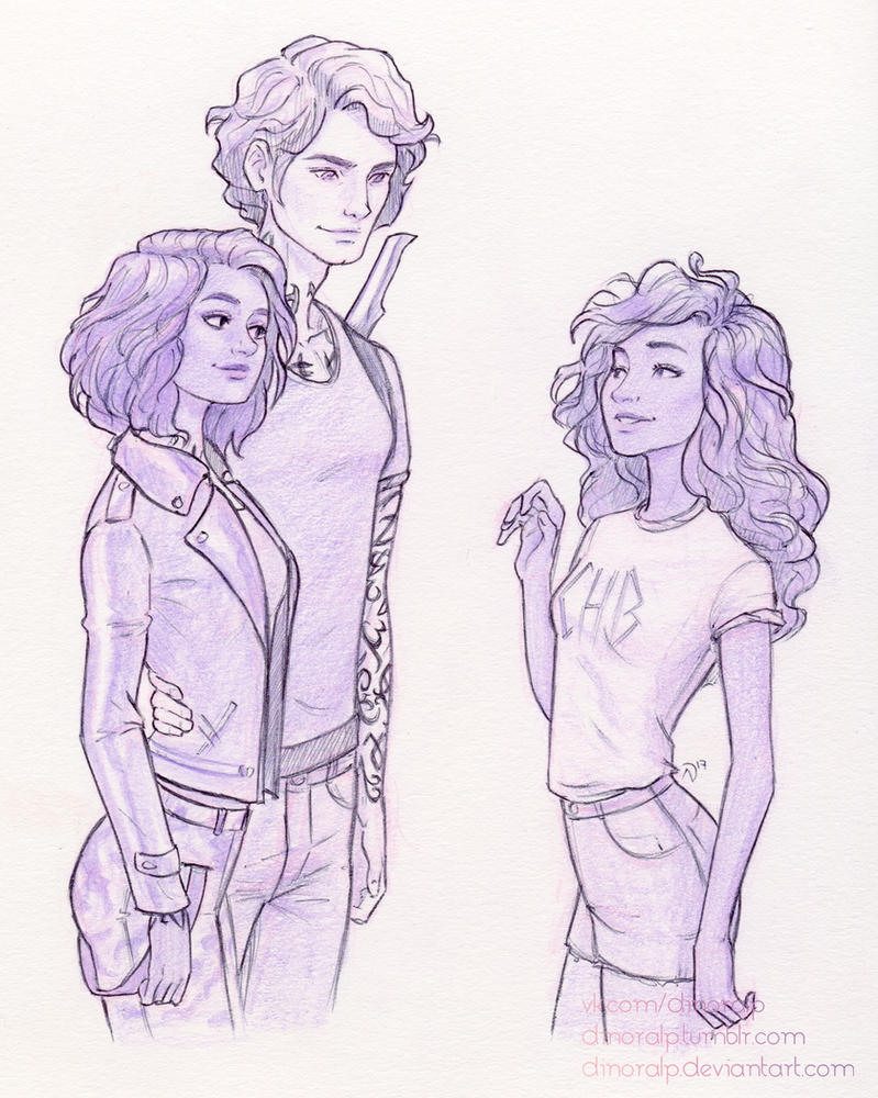 Shadowhunters commission by Dinoralp