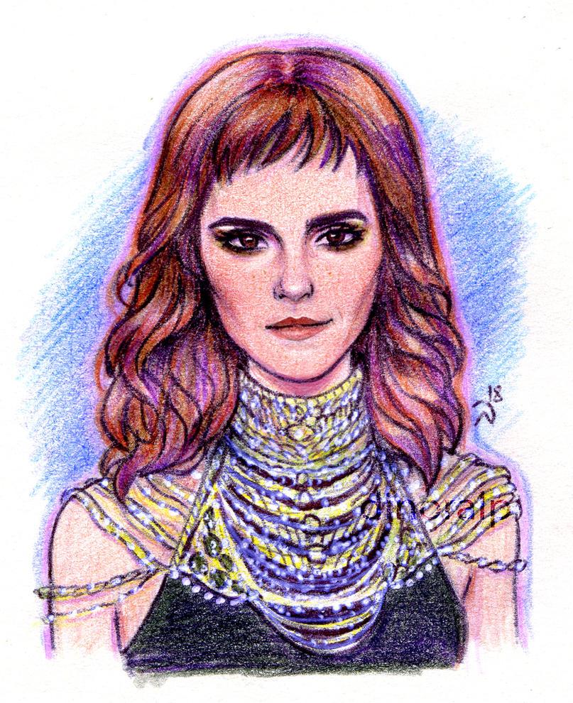 Emma Watson by Dinoralp