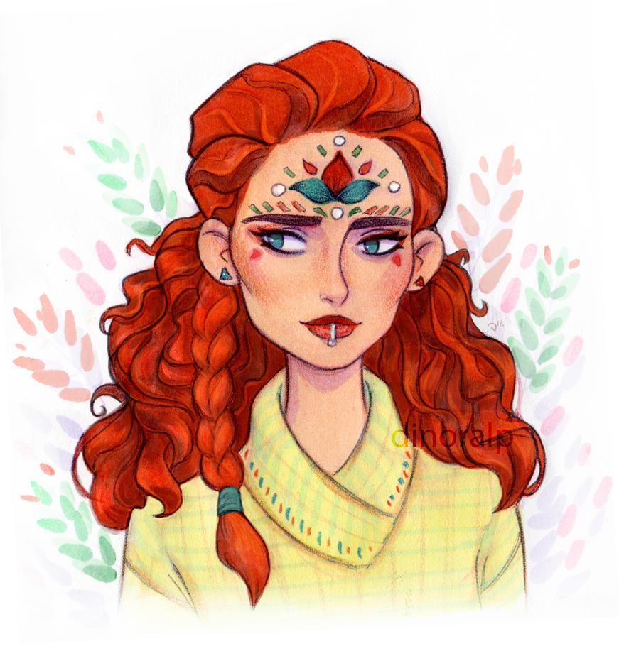Ginger girl by Dinoralp