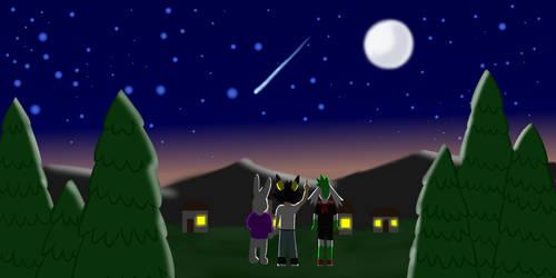 friendship night sky