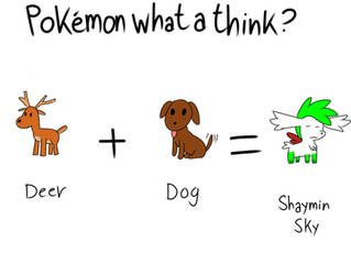 Pokemon a think shaymin?