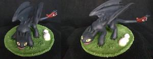 Who wants a Night Fury? by Dragon-gear