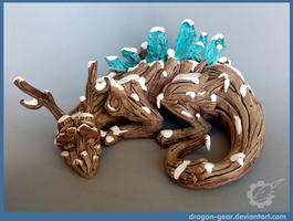 Dragon of Life Winter Version by Dragon-gear