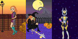 Beginning/Halloween town/Journey's end by Aristanova