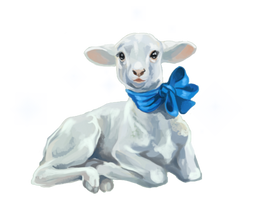 Bianca the lamb companion by SheduMaster