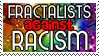 Fractalists Against Racism - 2 by Golubaja