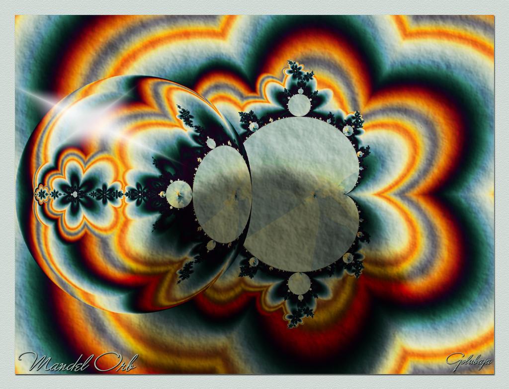 Mandel Orb by Golubaja