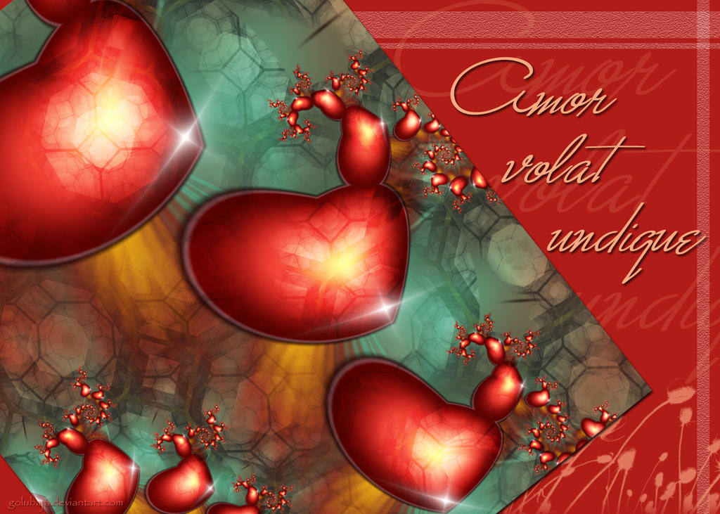 Amor volat undique - Card by Golubaja
