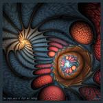One single maze of flesh and feelings by Golubaja