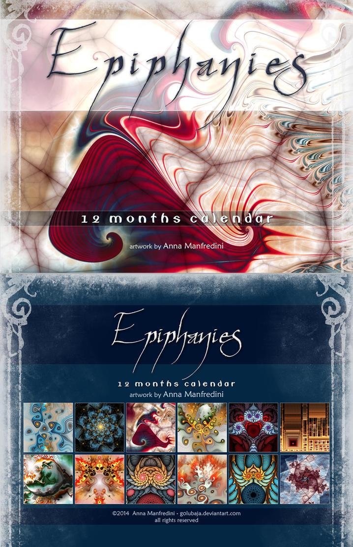 Epiphanies - 12 months Fractal Calendar by Golubaja