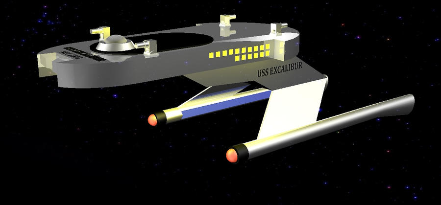 uss excalibur 1 by jy1971