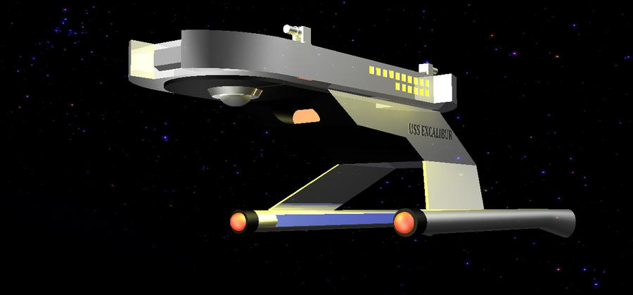 uss excalibur 3 by jy1971