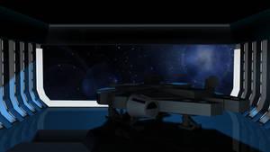 death star shuttle bay