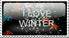stamp love winter by kailor