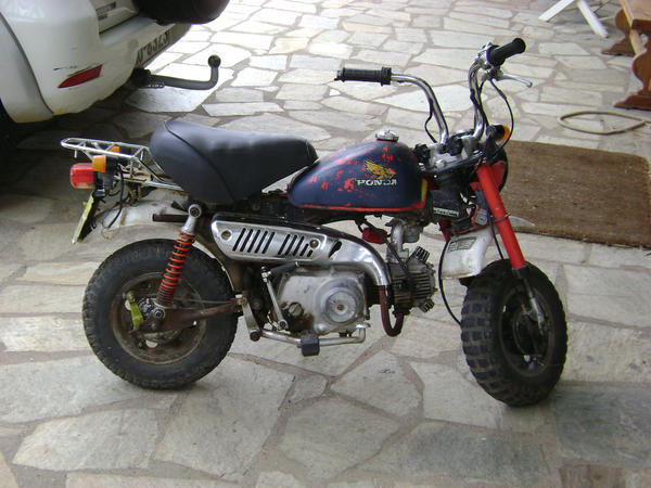 honda mini motorcycle by kailor on deviantart. Black Bedroom Furniture Sets. Home Design Ideas