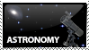 Astronomy Stamp by kailor