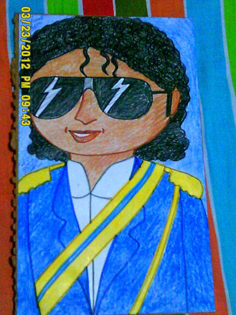 Michael Jackson circ. 1984 by artluvr4life