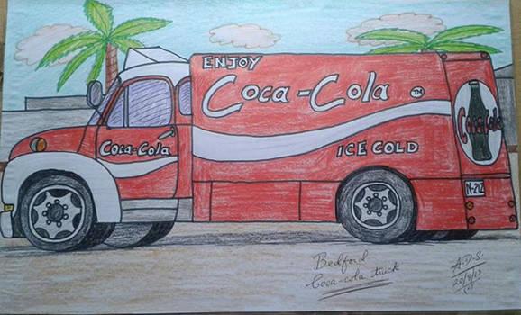 Bedford Coca-cola truck
