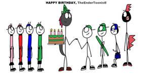 Happy Birthday, TheEnderToonist