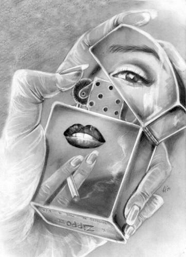 Marilyn's Zippo by C-Deveraux