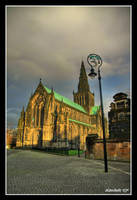 Glasgow Cathedral by karikaiyuk