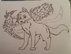 Jesika wolf form