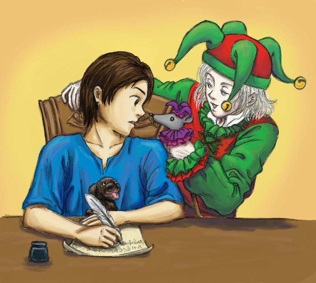 [Immagine: A_Fitz__a_Fool__and_Feist_by_decembertiggerX.jpg]