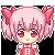 Pixel Shoujo Madoka Magica - Madoka by decembertiggerX