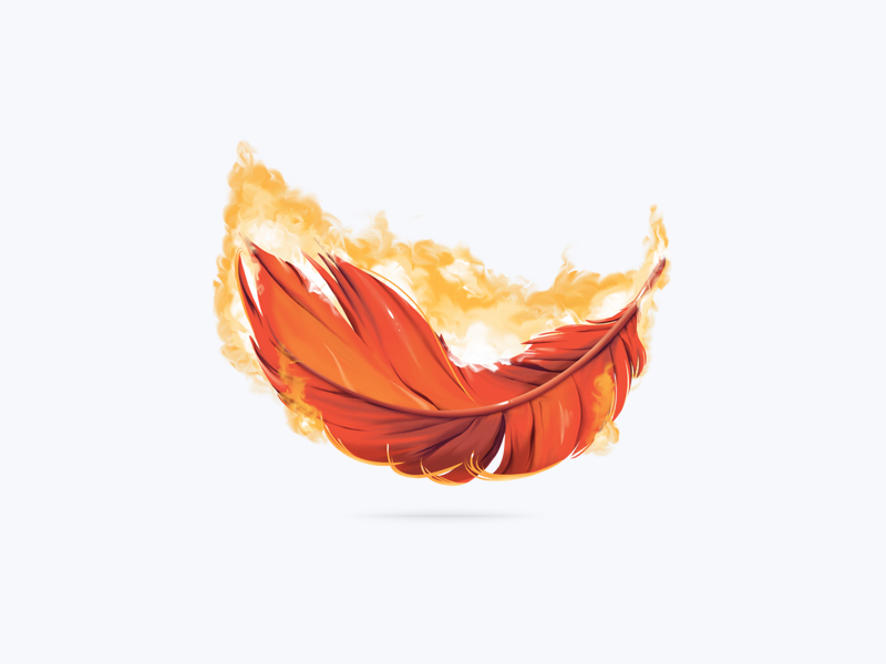 F With Flame Paint Job