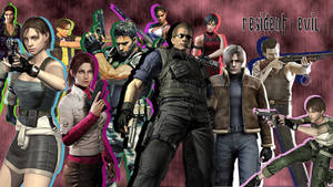 Resident Evil Main Characters