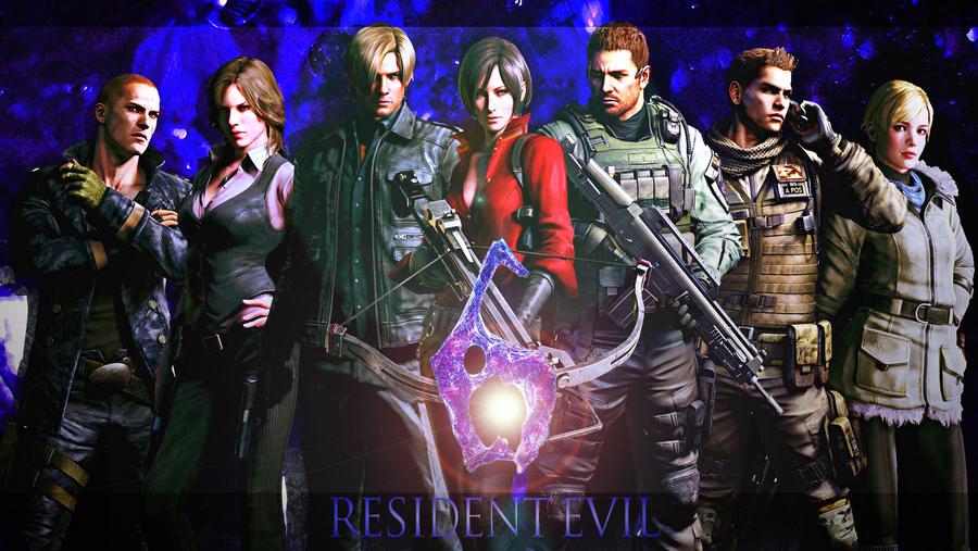 Resident Evil 6 by MusashiChan69 on DeviantArt