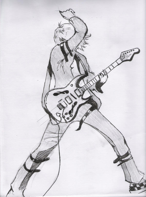 Guitar Player 1 by nicollearl on deviantART