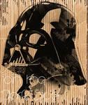 Darth Vader in Cardboard