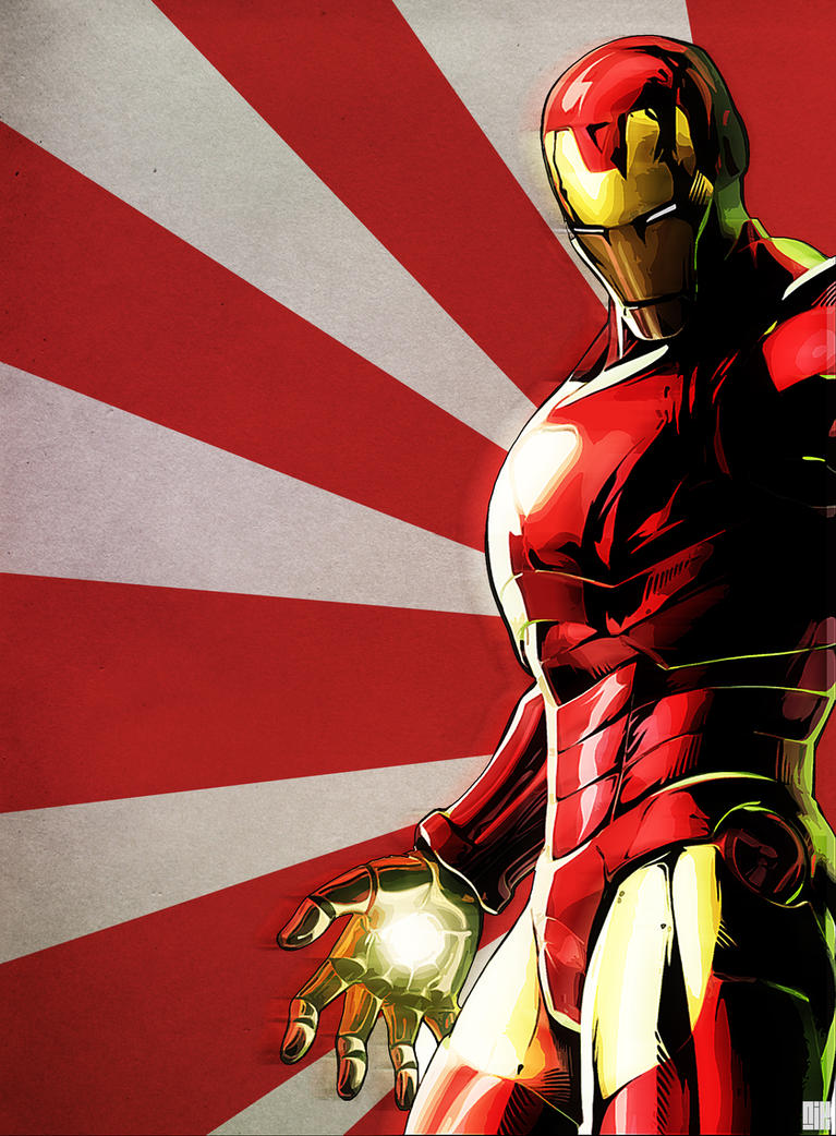Iron Man by nicollearl