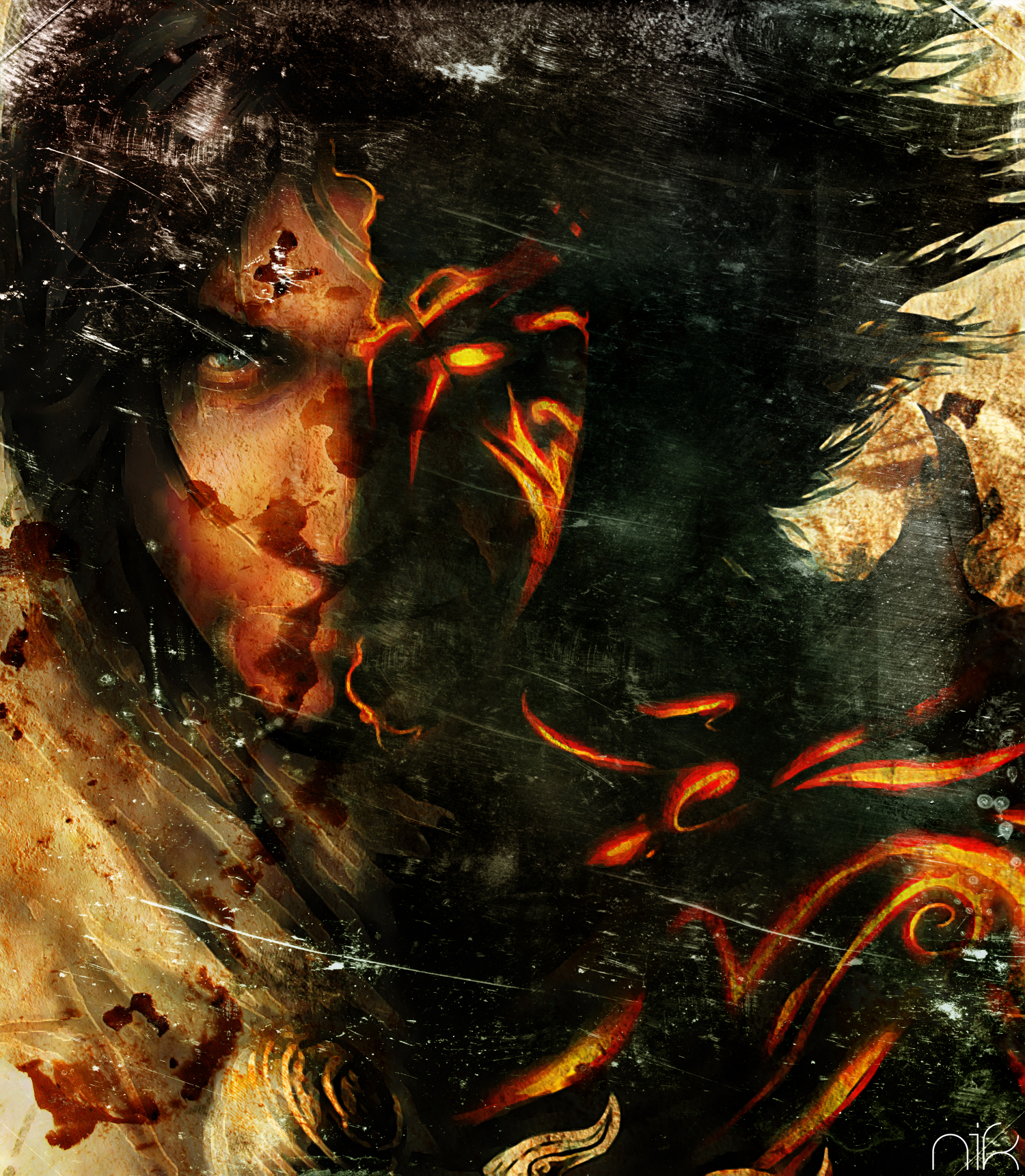 Prince Of Persia Two Thrones By Nicollearl On Deviantart