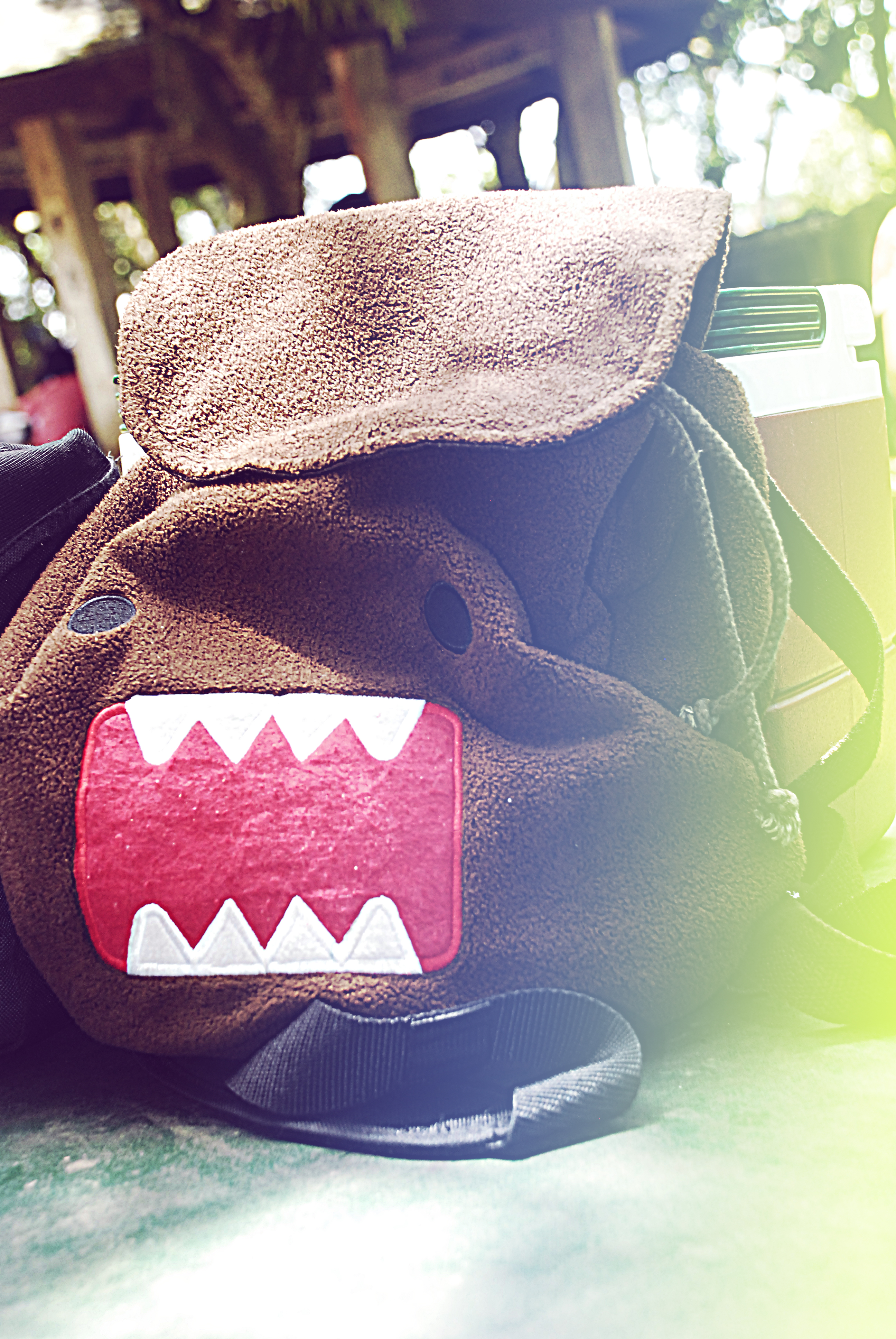Domo Backpack by nicollearl