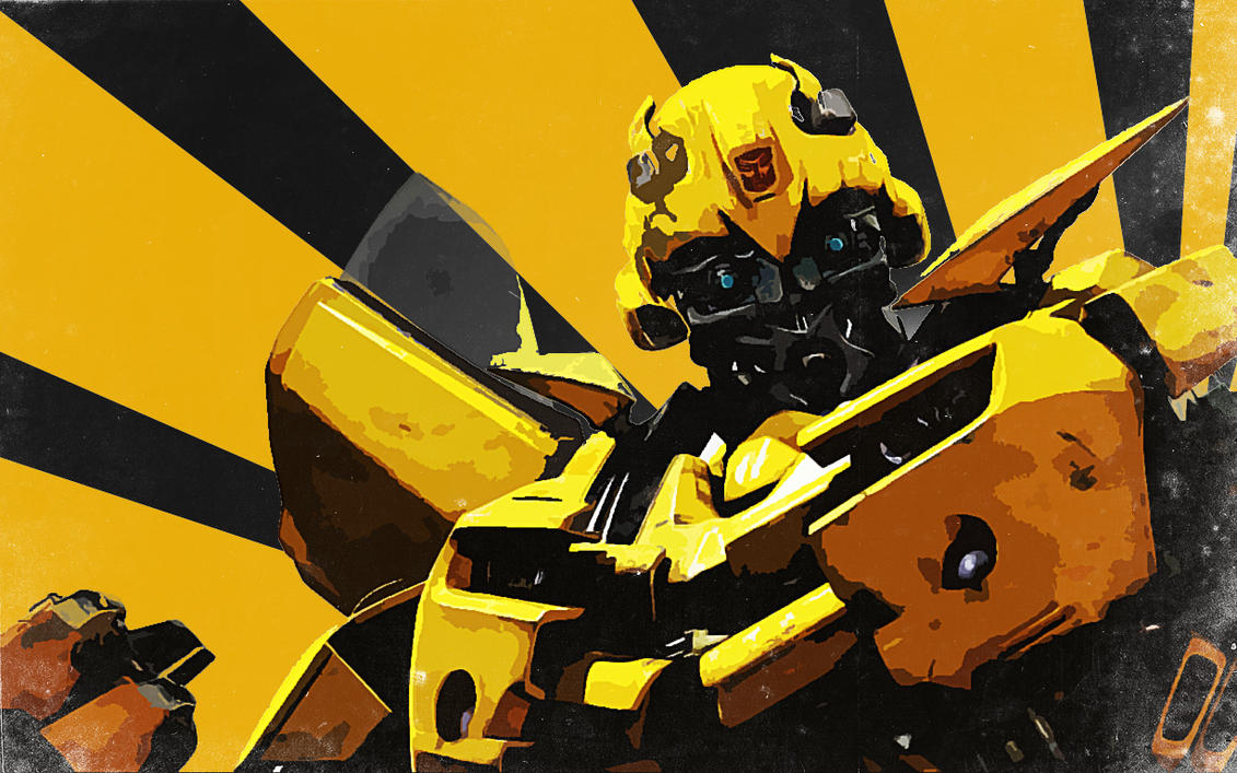 bumblebee wallpaper by nicollearl on deviantart