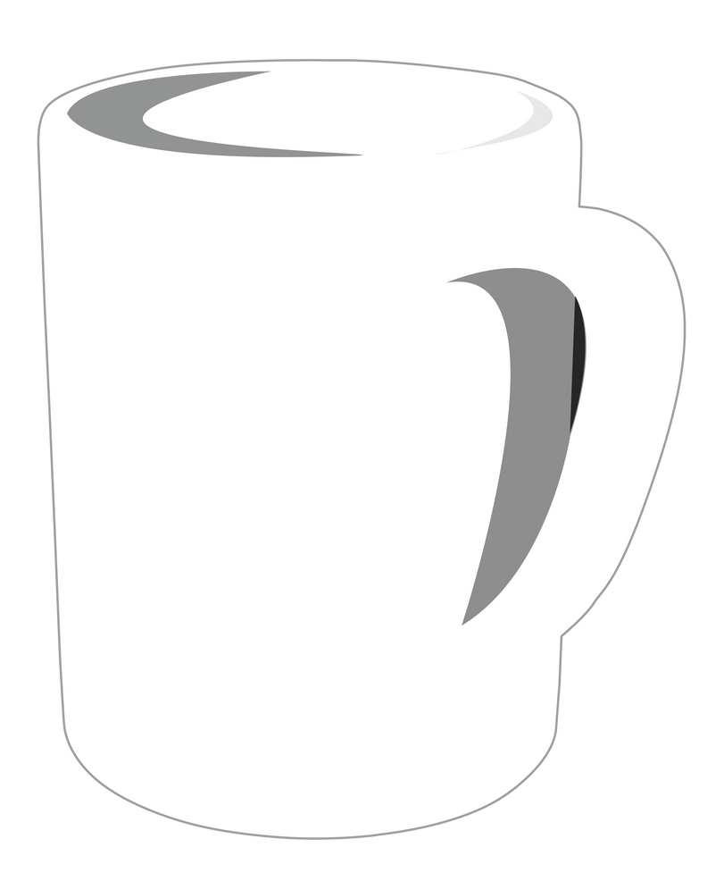 Coffee Mug Vector by nicollearl