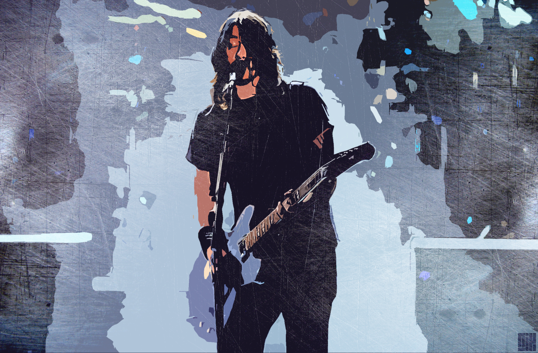 Dave Grohl Drums Wallpaper Dave Grohl Wallpaper by