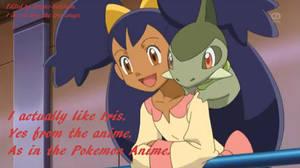 I like Iris, from the Pokemon Anime.