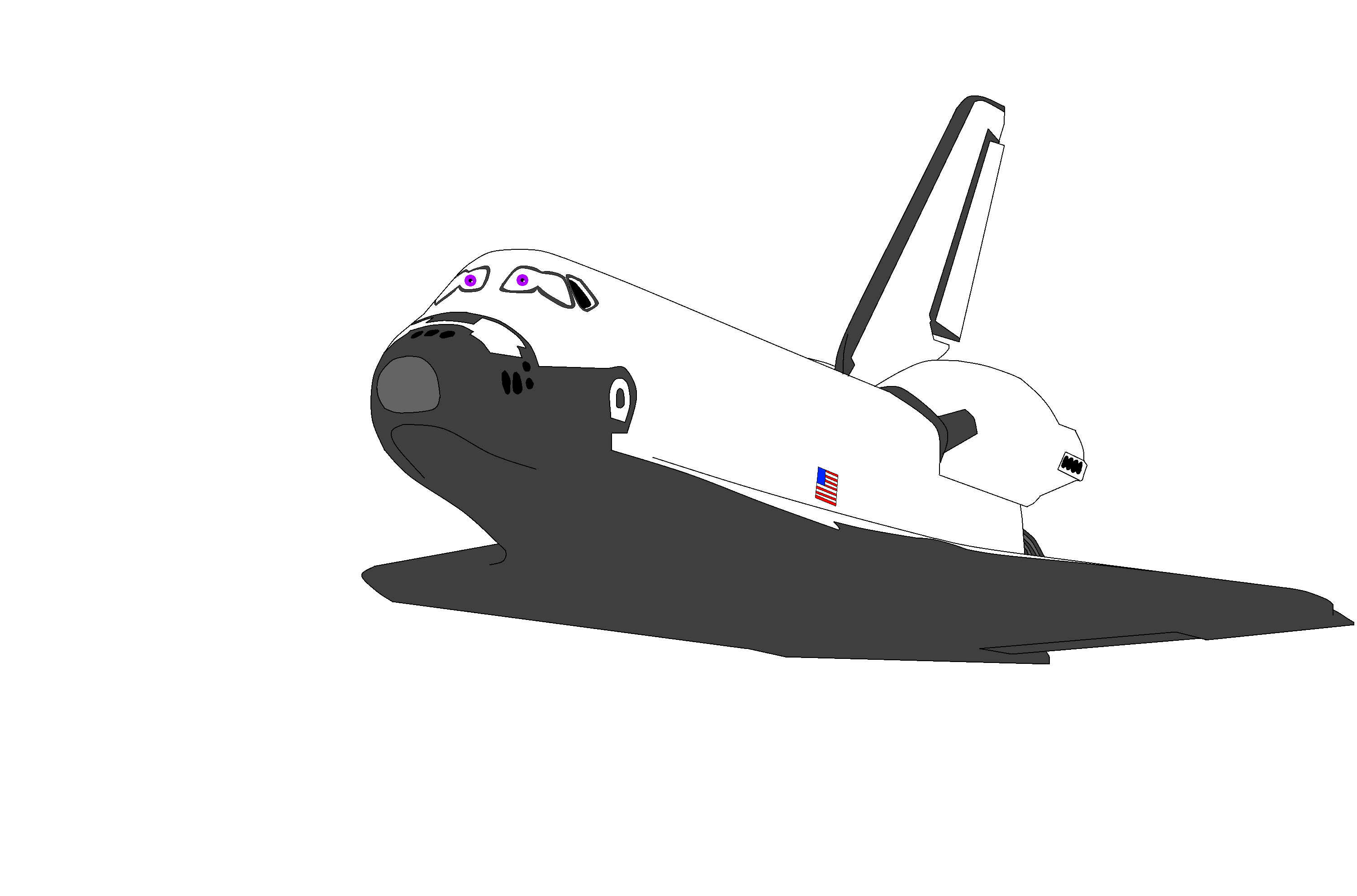 Space Shuttle Indiana by ColinTheP6M on deviantART