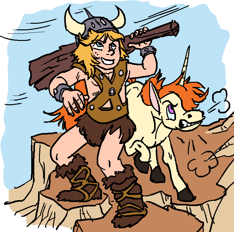 DSC - Bobby The Barbarian by animatrix1490