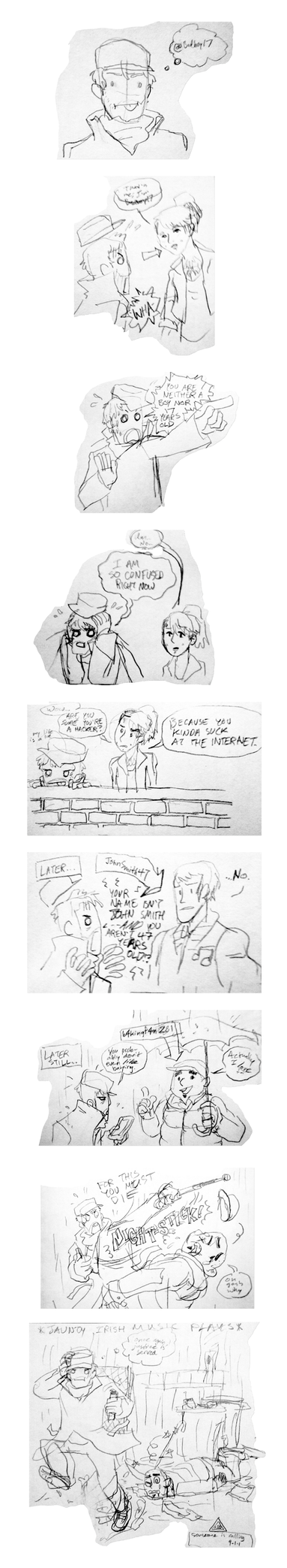 Sketch Comic - Watch_Derps by animatrix1490