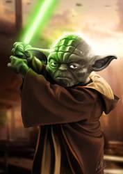 Yoda by MrWills