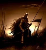 The Dark Knight by MrWills