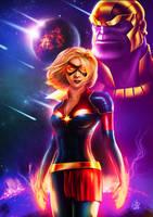 Captain Marvel by MrWills