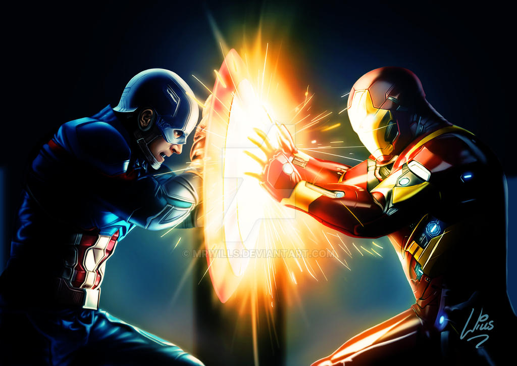 CIVIL WAR by MrWills